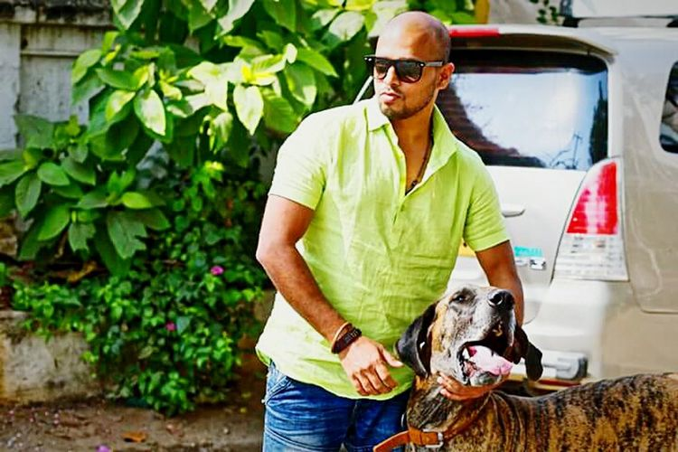 Leo & Me... Portrait Taking Photos Enjoying Life Hello World I❤dogs Desi Model Film Short Film Photo♡ God Is Great Check This Out Hi! Happy New Year Doglover Dogs Of EyeEm