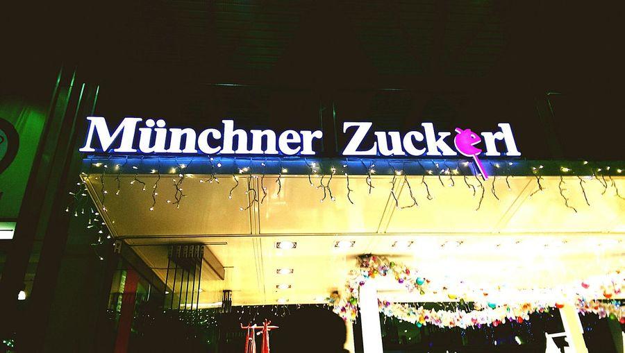 München Enjoy Everyday Münchner Zückerl Hauptbahnhof Germany Munih Everyday Joy