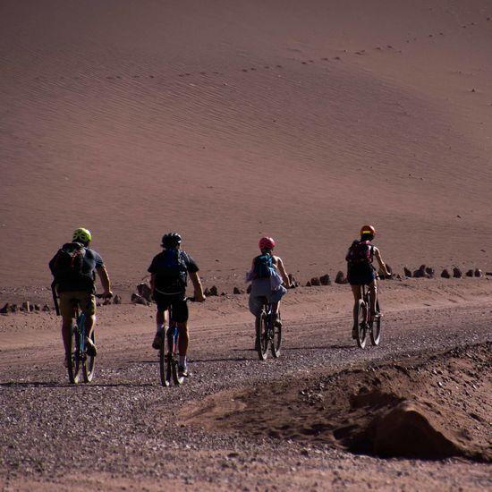 In Atacama Desert Andes Mountains Atacama Desert Adventure Travel Archeological Site Bike Travel Exotic Places Outdoors San Pedro De Atacama Sunset In The Desert