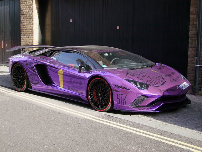 Mod Ball Rally Car Composition GB London Number One Sunlight And Shade Capital City Car Full Frame Lamborgini  Land Vehicle Luxury Modballrally Mode Of Transportation Motor Vehicle No People Outdoor Photography Purple Colour Rally Car Sleek Text Toy Transportation Uk Wealth