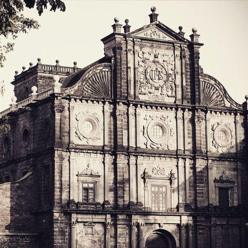 Basilica of Bom Jesus, Old Goa Church Jesus Portuguese Vintage Old Architecture Heritage Unesco Goa