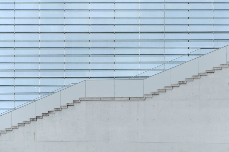 side view of an staircase ©alexander h. schulz Architecture Berlin Building Exterior Built Structure Close-up Day Detail Geometry Handrail  No People Outdoors Railing Staircase Stairs Steps Steps And Staircases