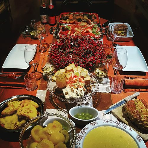 Passagem de ano 2015! Pda2015 Beautifuldecoration Newyearseve Beautifultable Food Pornfood Foodporn Touparachefdoanocj