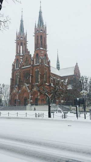 Winter Church Bialystok