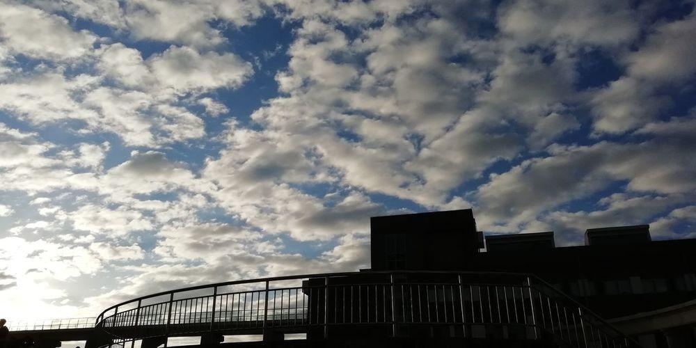 Sky Building Exterior Day