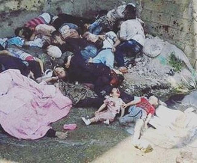 No es Francia es Siria hay niños y mujeres en las imágenes... Sé que es fuerte pero no veo filtros de color Negrorojoblancoyestrellasverdes BanderadeSiria Nomásguerras comparte y comenta...