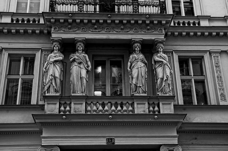 Balconies here
