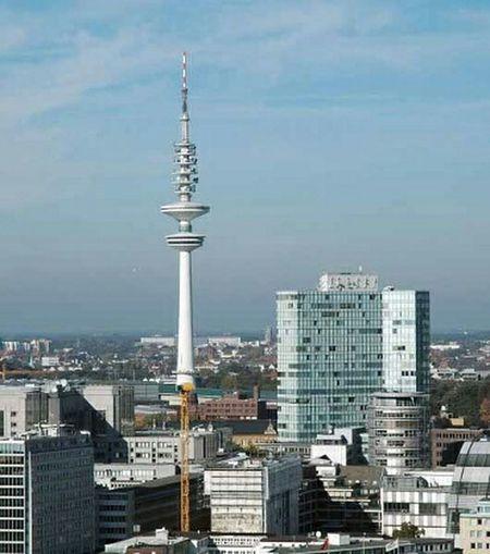 Hamburg Fernsehturm / Tv Tower Urban Geometry Open Edit At Beim Schlum Hamburg Germany