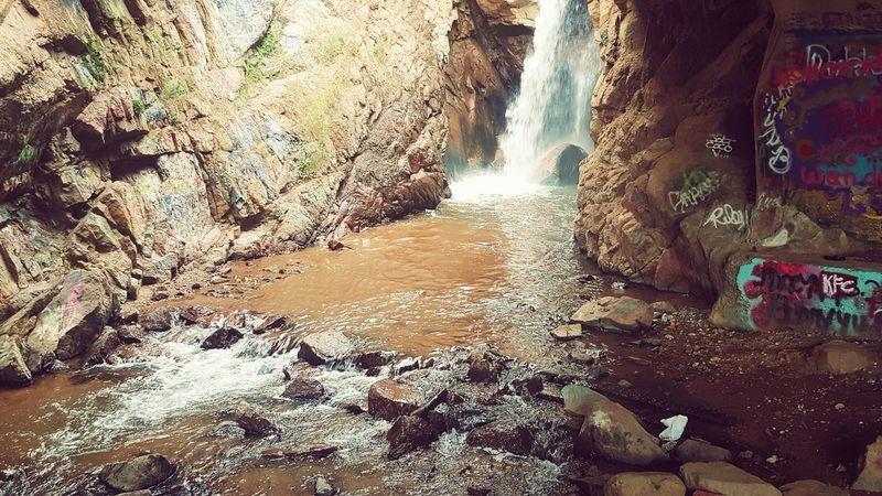 Colorado ManitouSprings Rainbowfalls Waterfalls