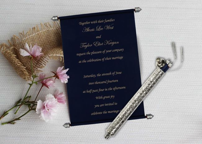 Pick this perfect design of Scroll Wedding Cards with latest and finest pattern. The fascinating wedding invitation designs and velvet paper artwork is a result of handwork and commitment of our skilled designers and manufacturers. Shop here https://www.123weddingcards.com/card-detail/SC-5006D For More Scroll invites : https://www.123weddingcards.com/scroll-wedding-cards-invitations 123WeddingCards Scroll Wedding Cards Scroll Wedding Invitation Cards Scroll Wedding Invitations Scroll Cards, Scroll Invitations, Scroll Wedding Invitation Cards Wedding Cards Flower Scroll Invitations Wedding Invitations