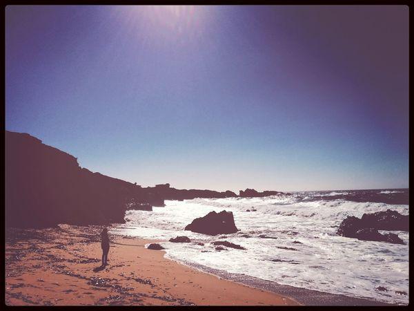 Solitude. Pacific Coast Highway Big Sur Sunbathing Cali Life