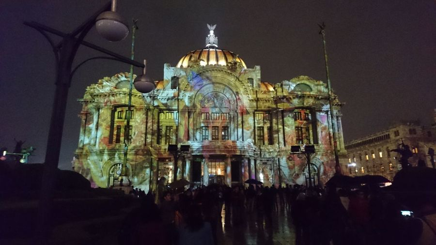 Bellas artes Architecture Illuminated Travel Destinations City Night Built Structure History Filux Mexico 2016 Relaxing Street Walking Around Taking Photos Lifestyle Places Beautiful Day Enjoying Life Mexico Downtown Mexico City Travel Photography Z5 Premium Traveller Light And Shadows Beautiful Night Sky Midnight