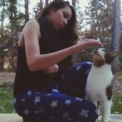 I found a stray it was soooo small ?☺️ Faces Of EyeEm Cat Gorgeous Pajamas stray cat