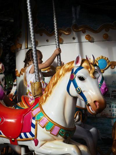 Children's merry-go-round Day Amusement Park Arts Culture And Entertainment City