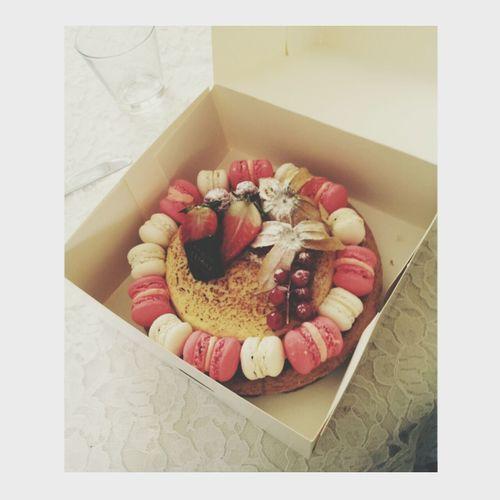 Photography Cake Lovely Macarons Dessert♡