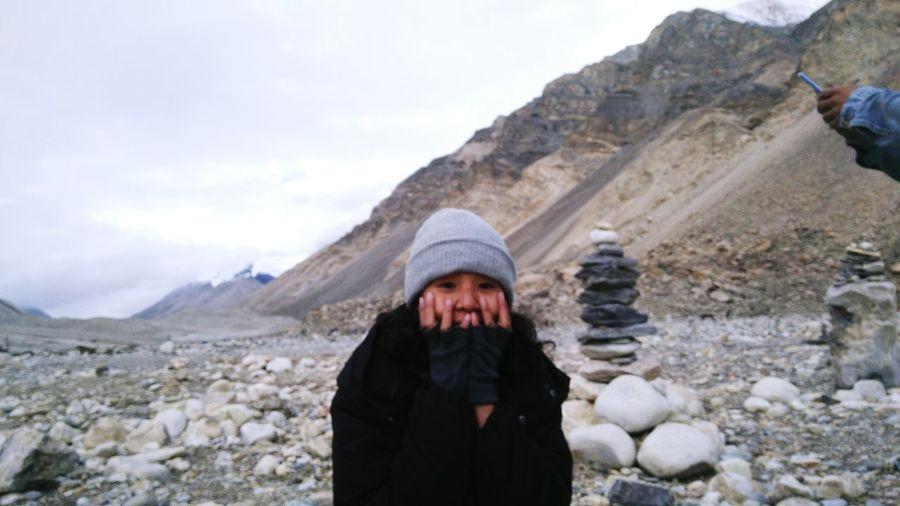 Warm Clothing Mountain Winter Men Cold Temperature Sky