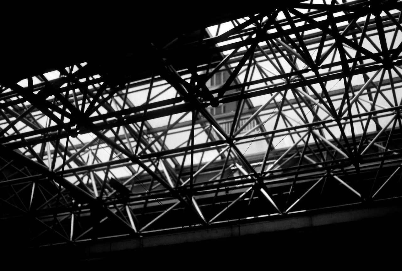 LOW ANGLE VIEW OF SILHOUETTE CEILING AGAINST SKY