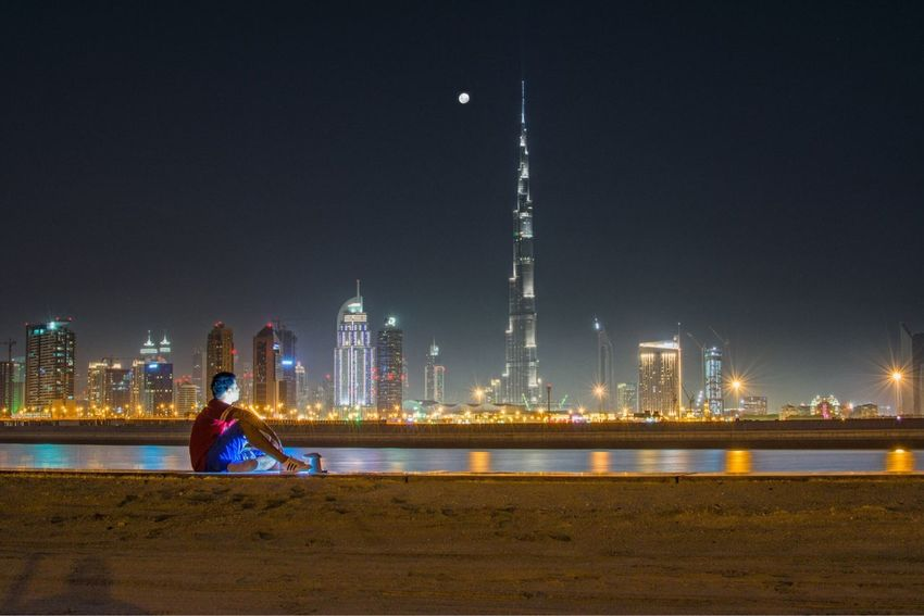 Looking into Dubai Taken by Lefoox1318 Mydubai Burjkhalifa
