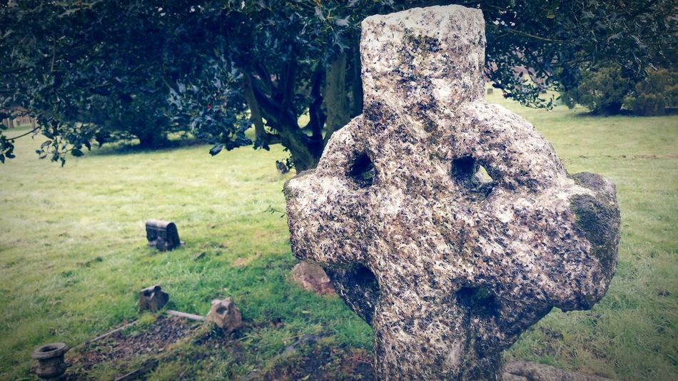 Cross Stone Cross Gravestone Graveyard Collection Showcase March