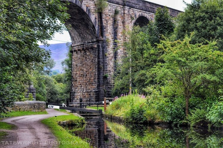Uppermill Canals And Waterways Saddleworth Landscape_Collection