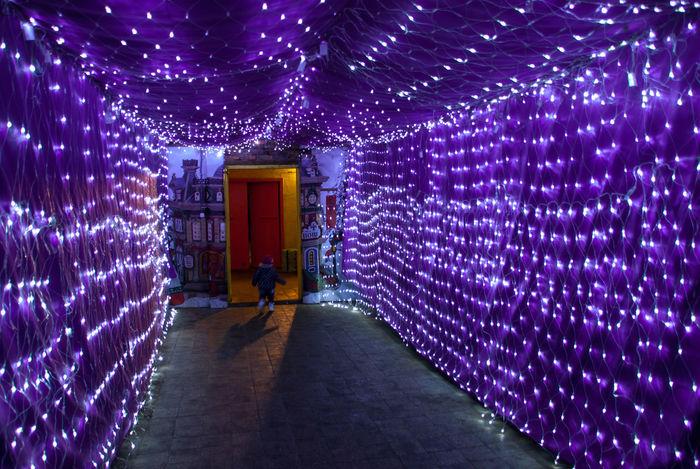 My Year My View Illuminated Tunnel Long Exposure Kid Child Goahead Unexpected Pathtonowhere Explore Purple