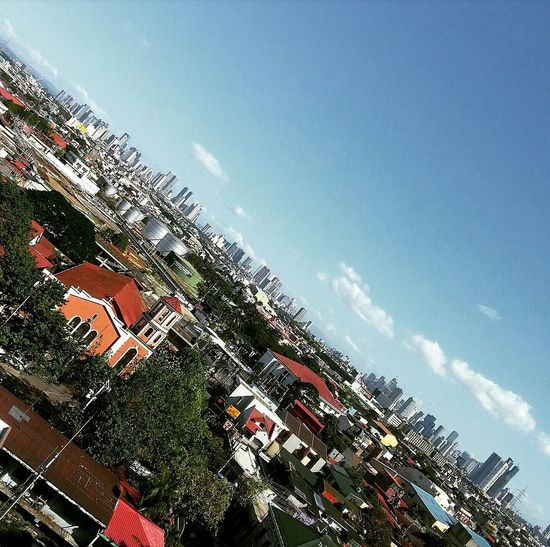 """""""Not the typical"""".... A Bird's Eye View City Skyline Fascinating View Clouds And Sky First Eyeem Photo Eye4photography  EyeEm Best Shots Eyeemmarket EyeEm Gallery EyeEm Cityscape Mobile Photography Eyeem Collection Photography At The Finest! Getty Images @ Manila , Philippines"""