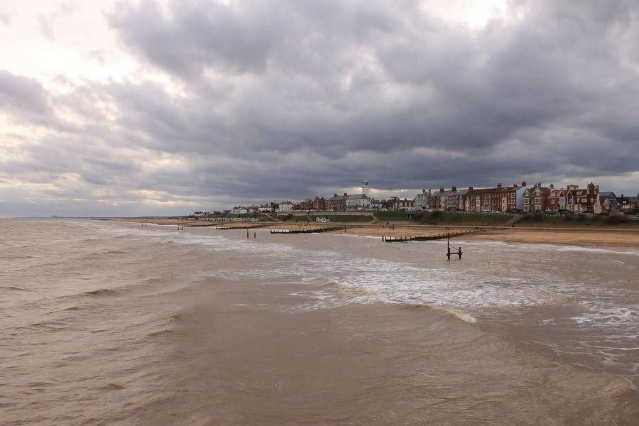 Beach Sand Sea Coastline Water's Edge Sky Landscape Southwold