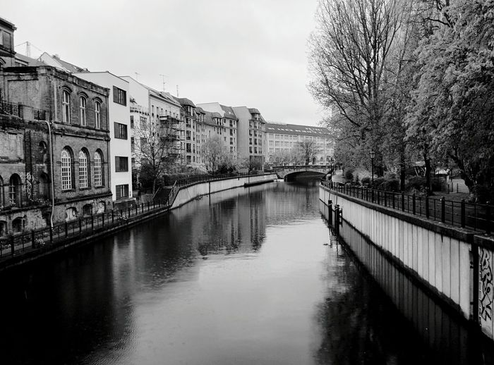 Day 290 - Along the canal Berlin Blackandwhite Streetphotography Streetphoto_bw 365project 365florianmski Day290