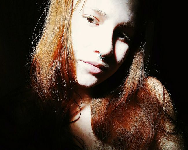 One Woman Only One Person Young Adult Portrait Adult Indoors  Day People Selfie Portrait EyeEm Best Shots ZenfoneSelfie Eye4photography  EyeEmNewHere Popular Photos EyeEm Gallery EyeEm Light Light And Shadow Luminosity Real People Adults Only Redheads  Ginger Natural Beauty Welcome Weekly