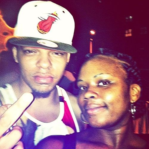 me and my homie.. fonna hit this beach party tho