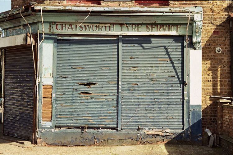 Closed Built Structure Architecture No People Shutter Day Outdoors Abandoned Building Exterior Close-up Postcode Postcards