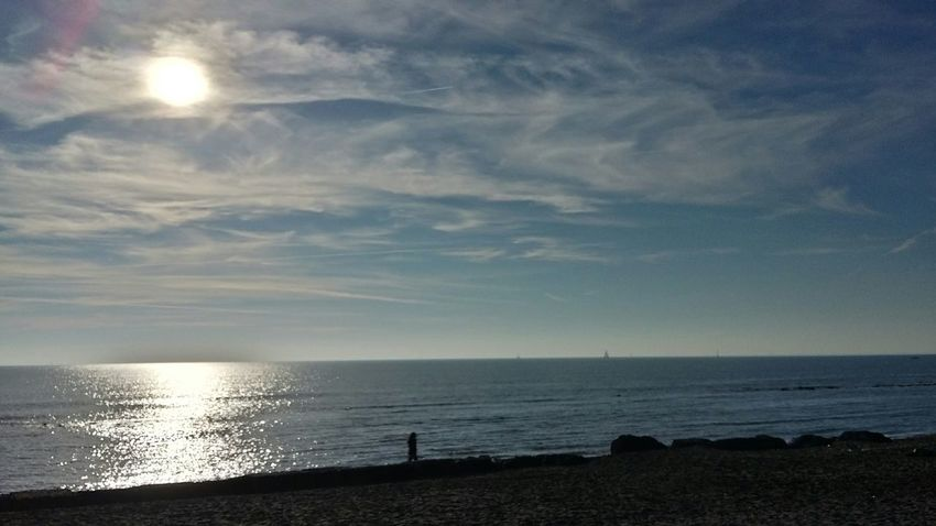 Sea Horizon Over Water Sun Water Beauty In Nature Nature Tranquility Tranquil Scene Beach Sky Cloud - Sky EyeEm Best Shots Wintertime Think Positive Colorcolorcolor December Nofilter Noedit Particolari Family Time L'amore No Edit No Filter Inlove