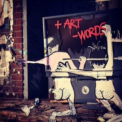 Moreart Lesswords Tv Art Escape Realism