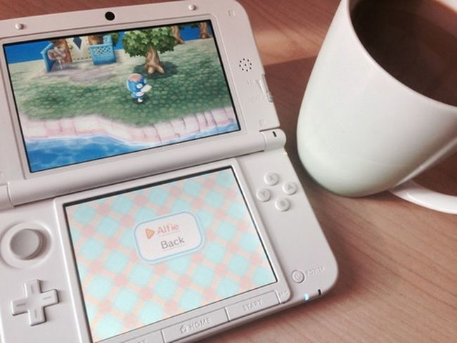 ? Goodmorning Animalcrossing 3DS Coffee Goodmorning