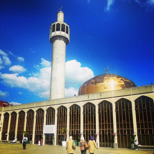 Architecture Dome Outdoors City Sky LONDON❤ Mosquee Praying Goodvibes Regentspark Beautiful Day Blue Sky