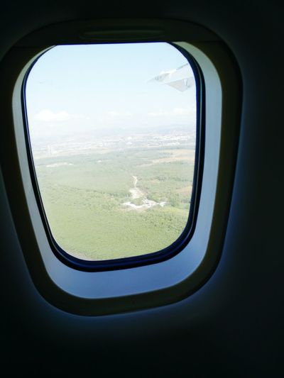 From An Airplane Window Panama City Fromtheair Beauty Backtohome Chile♥ Airplane