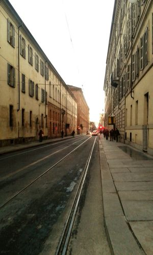 Cielo Sky Cityscape Citta Luce Calda Cityscapes Ligh Red Light Luce Rossa Strada Street Streetphotography