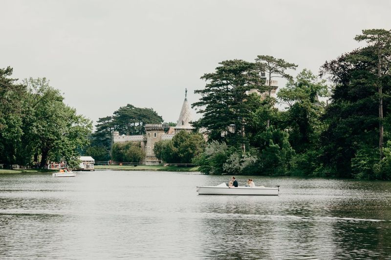 sundays at Schlosspark Laxenburg near Vienna Tree Transportation Waterfront Mode Of Transport Nautical Vessel Water Day Nature Leisure Activity Outdoors Architecture