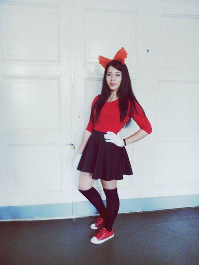 Red Minnymouse Latvian Girl Latvia ZZ