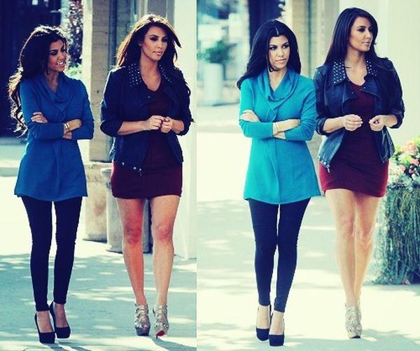 Kim Kardashian Kourtneykardashian ❤️❤️