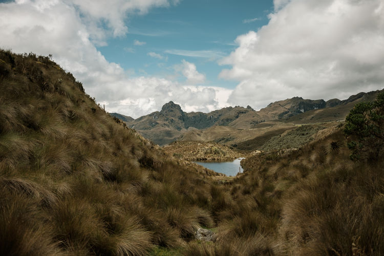 Beauty In Nature Cajas Day Ecuador Landscape Mountain Mountain Range National Park Nature No People Outdoors Parque Nacional Scenics Tranquil Scene Tranquility