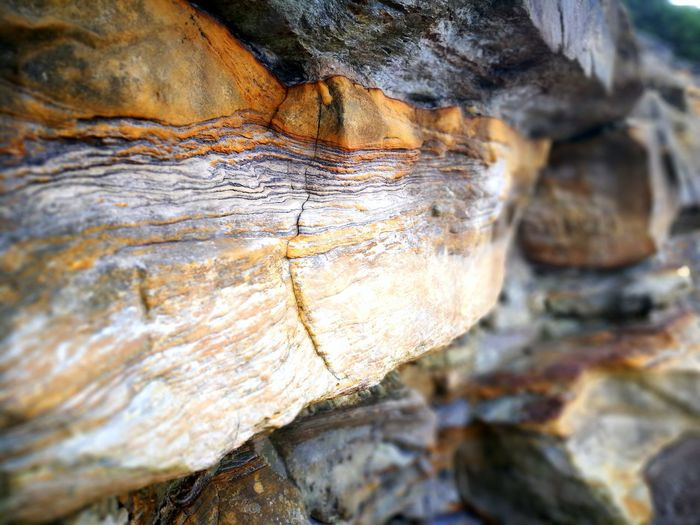 rock sandwich Layers Of Rocks Textured  Backgrounds Pattern Close-up