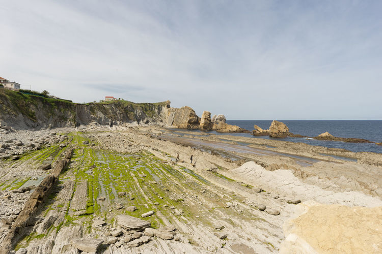 Cantabria Nature SPAIN Arnia Beach Beauty In Nature Day Horizon Over Water Landscape Nature No People Ocean Outdoors Rock - Object Scenics Sea Sky Tranquil Scene Tranquility Water