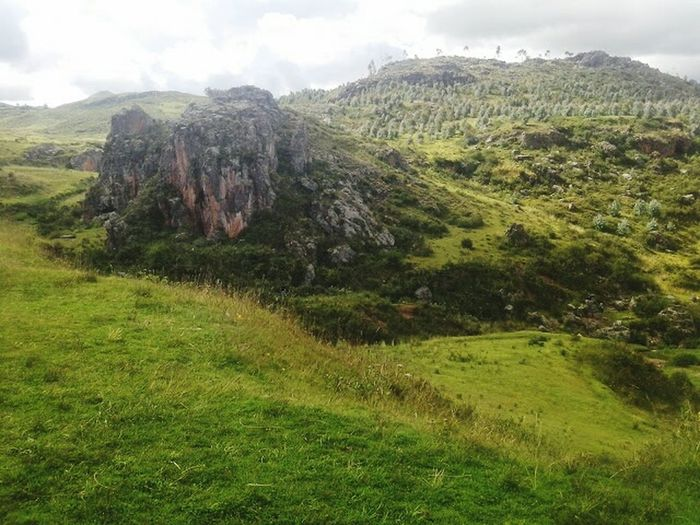 Mountain Tranquil Scene Scenics Tranquility Landscape Non-urban Scene Beauty In Nature Nature Sky Mountain Range Green Color Cloud - Sky Travel Destinations Outdoors Cloud Day Rocky Mountains Growth Remote Physical Geography Cusco Sacsayhuaman