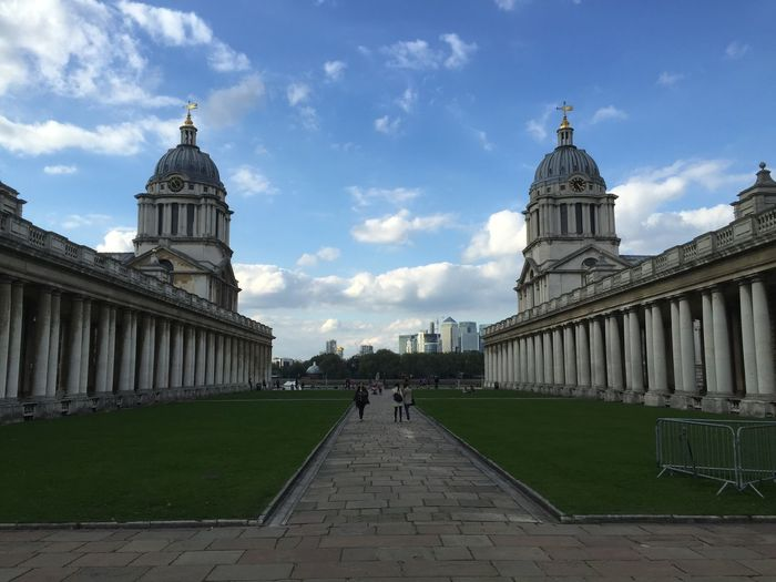 Greenwich University Wolfe Does UK London Symmetry Architecture