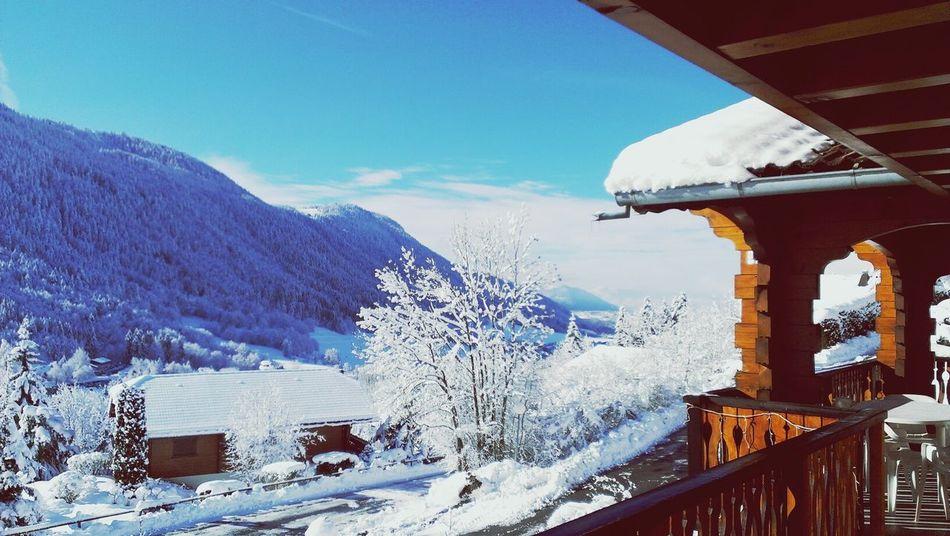 Snow day! Bernex France