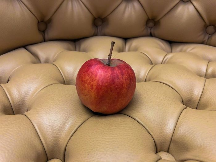 EyeEm Selects EyeEm Best Shots Food And Drink Healthy Eating Food Fruit Freshness Sofa Indoors  Apple - Fruit Wellbeing Furniture Red No People Close-up Still Life Domestic Room Home Interior Cushion Pillow Stuffed Relaxation