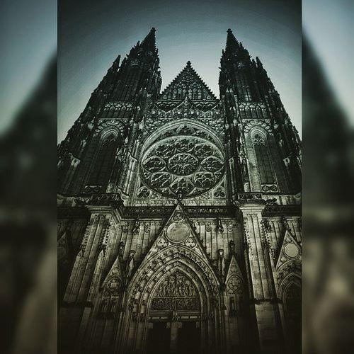 Praha Praga Prague Czechy Czechrepublic Instasize Katedra śwWita KatedraśwWita Stvituscathedral Cathedral Picture Schooltrip Architecture Gothic Gothicarchitecture Gotyk Sony A5100 Alpha ICAN