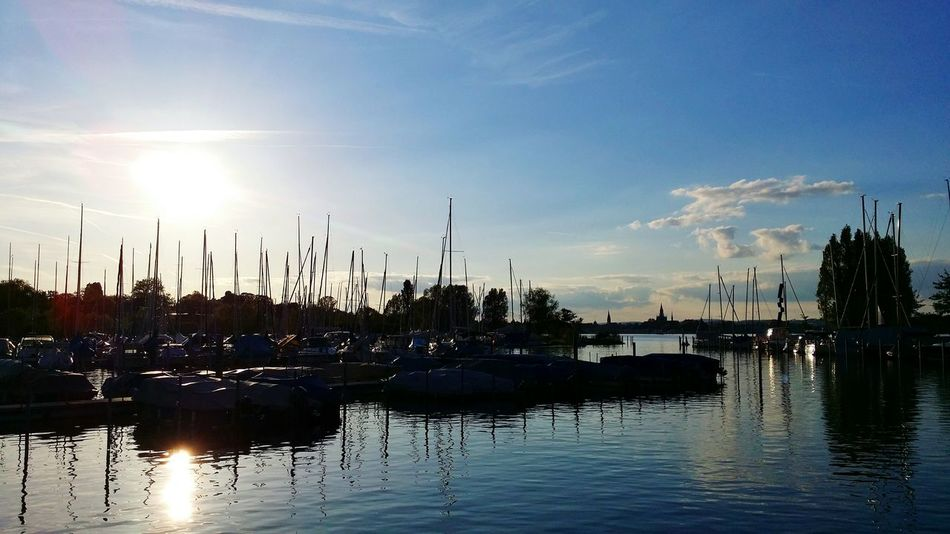 Taking Photos Relaxing Enjoying Life Lake View Kreuzlingen Switzerland Light And Shadows Lake Clouds Cloud And Sky Cloudy Skies Weather Weather Photography Landscape Landscapes Landscape_photography No People Transportation Mypointofview My Point Of View Tranquility Nopeople First Eyeem Photo