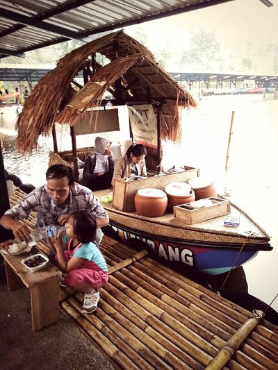 Vacation Lunch Time Happy Weekend Floating Market